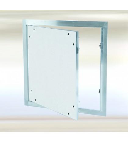 Sistema F1 - Trampilla de aluminio con compuerta fija 400x400/12,5mm